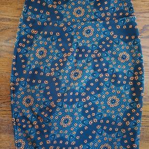 LuLaRoe pencil skirt size L